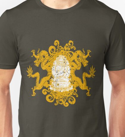 Buddha with Dragons Unisex T-Shirt