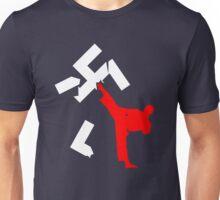 kick racism Unisex T-Shirt