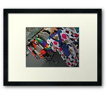 Polka Dots Framed Print