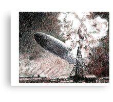 Hindenburg Canvas Print