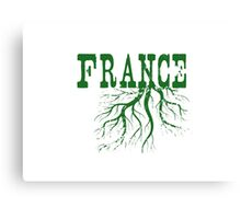 France Roots Canvas Print