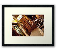 Internet Cafe Framed Print