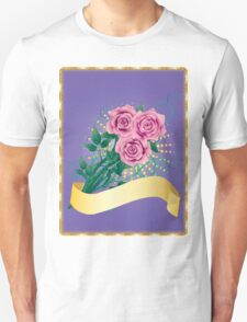 Card with pink roses 2 T-Shirt
