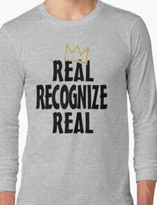 Real Recognize Real King of Kings Long Sleeve T-Shirt