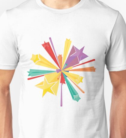 Colorful Stars 3 Unisex T-Shirt