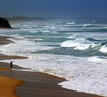 Fishing the Surf  by helmutk