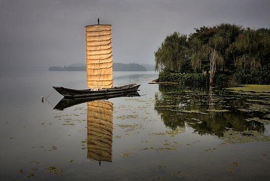 Old Korean Boat by Bobby McLeod