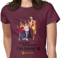 Buttress O'Kneel - I'm Lovin' It... Womens Fitted T-Shirt