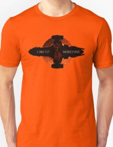 I aim to misbehave T-Shirt