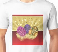 Easter card with eggs 2 Unisex T-Shirt