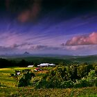 "Glasshouse Mountains by Phineous ""Flash""   Cassidy"