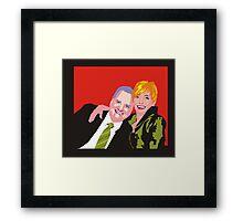 Shaz & Pete Framed Print