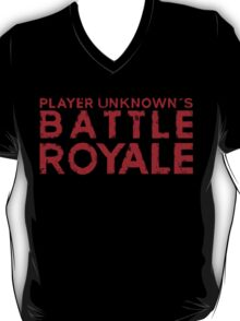 H1Z1 - Battle Royal Red T-Shirt
