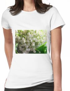 Lilies of the valley Womens Fitted T-Shirt