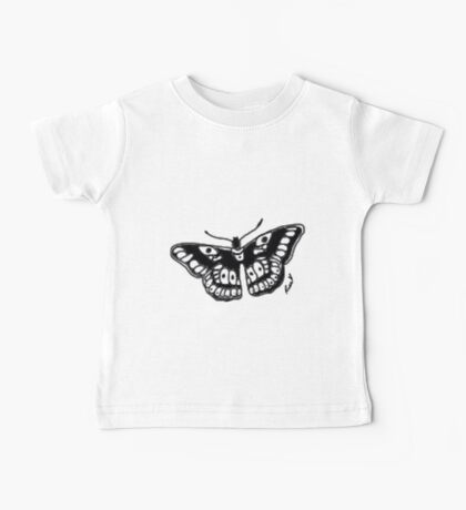Butterfly Tattoo Baby Tee
