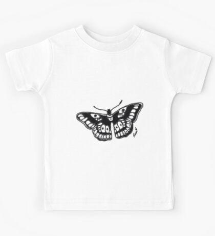 Butterfly Tattoo Kids Tee
