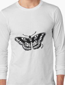 Butterfly Tattoo Long Sleeve T-Shirt