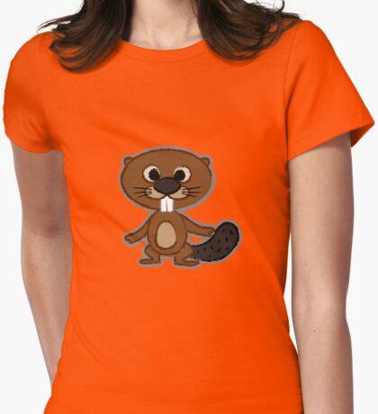 Little Beaver Womens Fitted T-Shirt