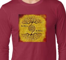 one : as above so below Long Sleeve T-Shirt