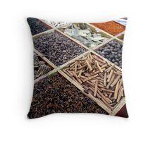 Spice rack Throw Pillow