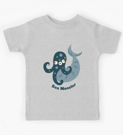 Sea Monster Kids Tee