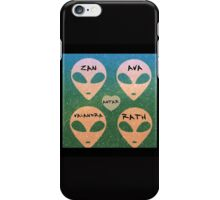 Roswell Aliens Tv Show Past Life iPhone Case/Skin