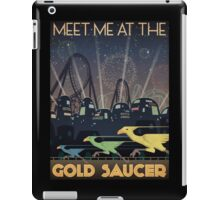 Final Fantasy VII Gold Saucer Travel Poster iPad Case/Skin