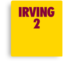 Kyrie Irving #2 Canvas Print