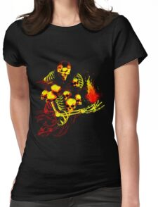 The Gravelord Nito Womens Fitted T-Shirt