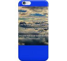 doNotFollow iPhone Case/Skin