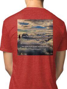 doNotFollow Tri-blend T-Shirt