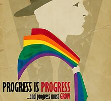 Progress Must Grow by Jesse Armine