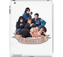 the breakfast club banner iPad Case/Skin