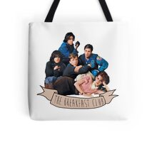 the breakfast club banner Tote Bag