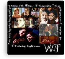 Willow & Tara Quotes Canvas Print