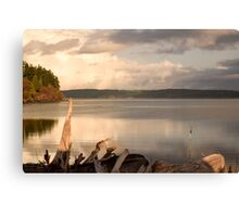 View from the shore Canvas Print