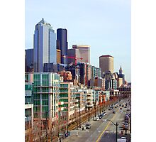 Seattle Alaskan Way  Photographic Print