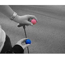 Coloured Balls Photographic Print