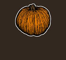 Pumpkin Womens Fitted T-Shirt