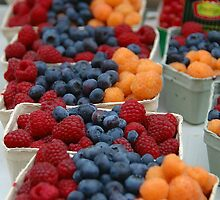 Tri-colored Berries by Jackco  Ching