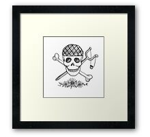 Realistic Jolly Roger- Usopp Framed Print