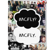 McFly? McFly. iPad Case/Skin
