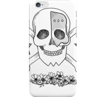 Realistic Jolly Roger- Franky iPhone Case/Skin