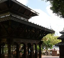 Nepalese Temple, South Bank Brisbane by Kyle  Jackson