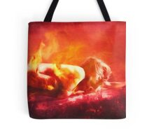 Born From Fire Tote Bag