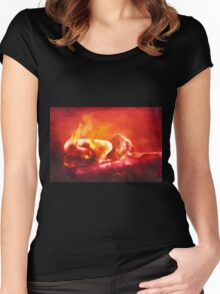 Born From Fire Women's Fitted Scoop T-Shirt