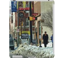 A Snowy Day in Town iPad Case/Skin