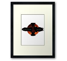 No power in the verse can stop me Framed Print