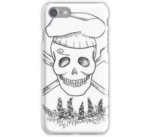 Realistic Jolly Roger- Sanji iPhone Case/Skin