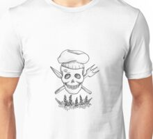 Realistic Jolly Roger- Sanji Unisex T-Shirt